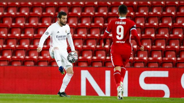 Nacho sigue sumando partidos sólidos en defensa ante la ausencia de Ramos. @realmadrid