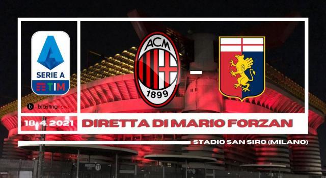 Milan - Genoa live dalle ore 12.30 a San Siro