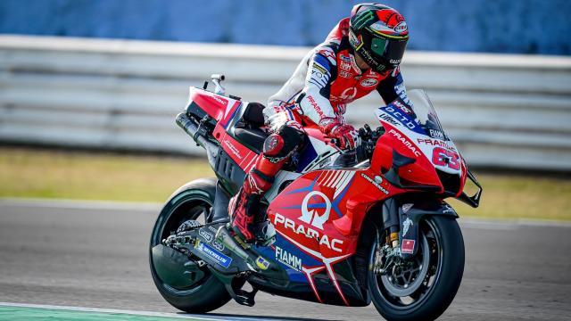 MotoGp, GP Doha, Francesco Bagnaia chiude in seconda posizione dopo FP2