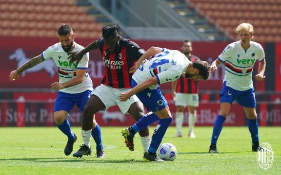 Il Milan si inceppa sulla Sampdoria: finisce 1 - 1 foto di: acmilan.com