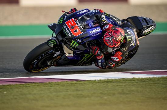 Fabio Quartararo vince il Gran Premio di Doha