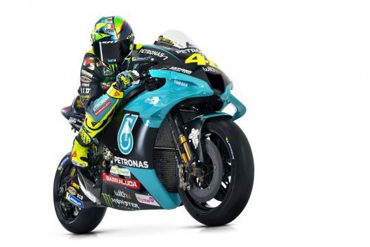MotoGP 2021, Valentino Rossi team Petronas.