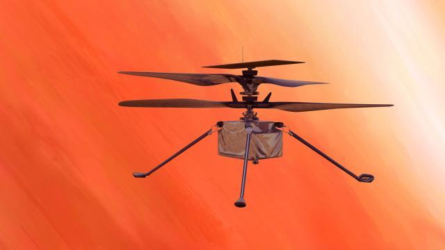 L'elicottero Ingenuity della Nasa.