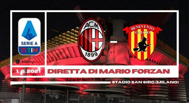 Serie A: Il Milan ospita il Benevento di Pippo Inzaghi alle ore 20.45.