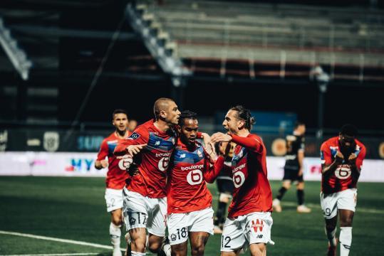El Lille ganó 2-1 en casa del Angers para ganar el título. @losclive