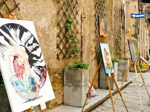 Estemporanea a Borgo Strafalé - Palermo (ph.Sabrina Longi) 6