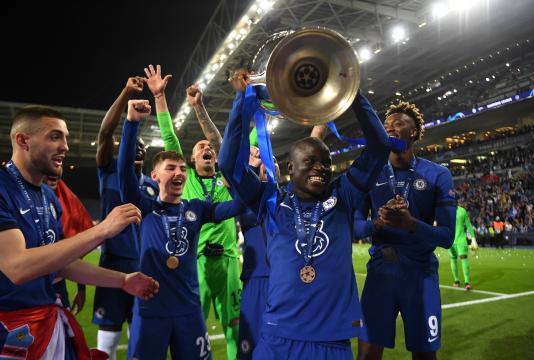 Kanté fue el MVP de la final. @ChelseaFC