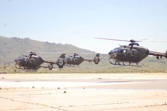 Los helicópteros