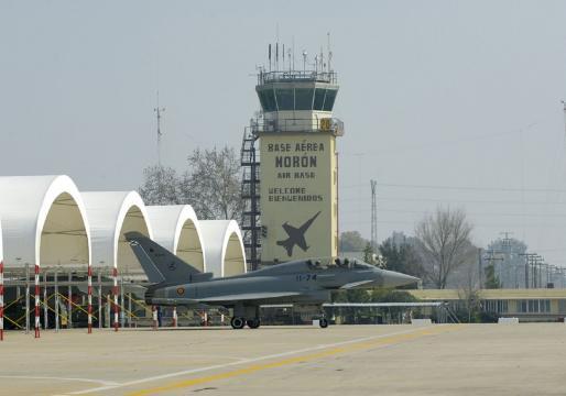 La Base de Morón fue la sede del Ejercicio Sirio del EDA (Foto: MDE.es)