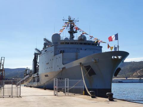 La SNMG-2 engloba a buques de todas las naciones de la OTAN (Foto: MDE.es)