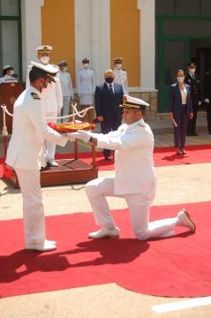 El capitán Núñez, comandante del