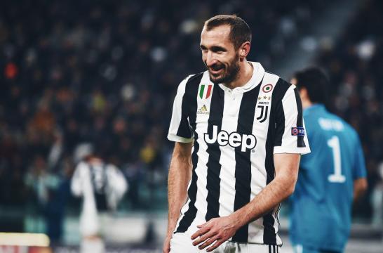 Giorgio Chiellini, classe 1984 è il capitano della F.C. Juventus dal 2018.