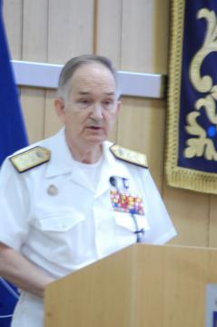 El Secretario General de Política de Defensa expone la experiencia de estos 40 años de asociación (Foto: Antonio Rodríguez Jiménez)