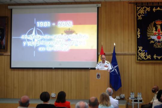 España celebra los 40 años de su incorporación a la Alianza Atlántica, OTAN (Foto: Antonio Rodríguez Jiménez)