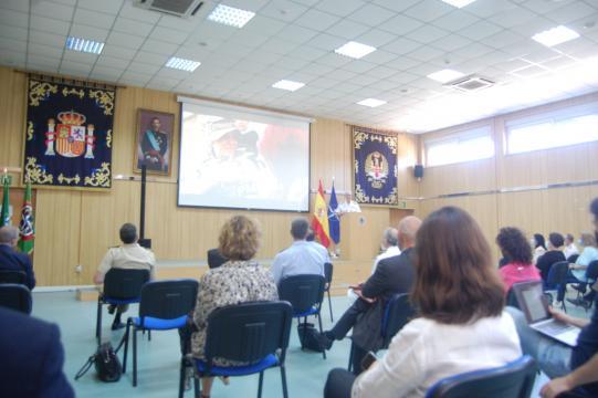 La conmemoración de la entrada de España en la OTAN fue muy seguido por el publico asistente (Foto: Antonio Rodríguez Jiménez)