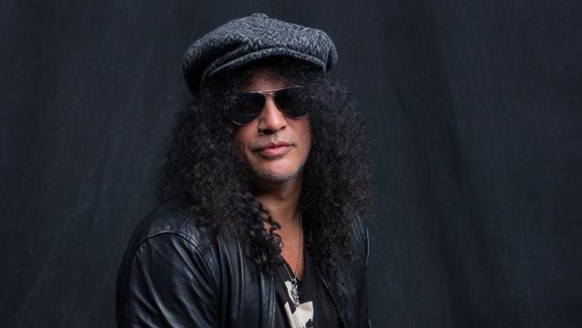 Slash festeggia i 15 anni senza alcool e droghe