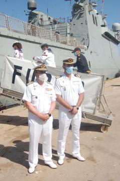 Almirante de Acción Marítima y comandante del