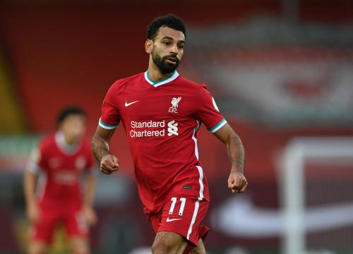 Mohamed Salah, giocatore del Liverpool