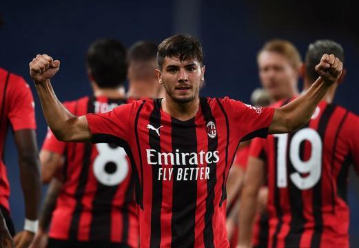 Sampdoria - Milan match winner Brahim Diaz. Foto di: acmilan.com