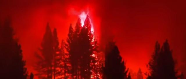 80 major wildfires burning in Western U.S. [Image source/NBC News YouTube video]