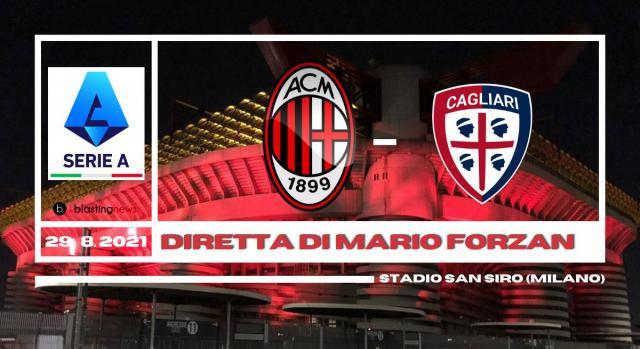 Serie A: seconda giornata di campionato Milan - Cagliari.