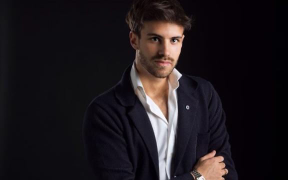 Alessandro Lucino ritratto scrittore.