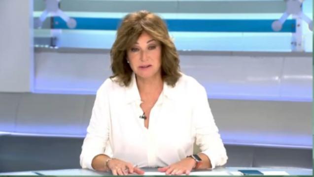 Ana Rosa intentó solventar su error durante el programa. (Fuente: captura de pantalla de Telecinco)