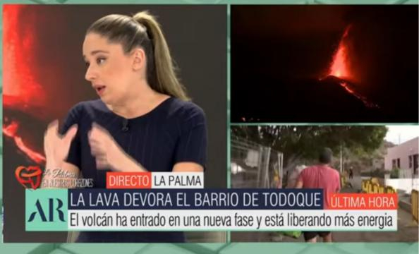 La experta en física intenta responder a la pregunta de Ana Rosa (Telecinco)