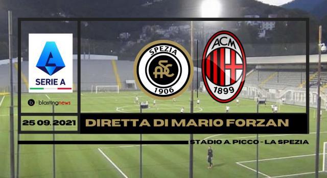 Diretta Serie A: La sesta giornata si apre con Spezia - Milan